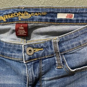 Women's Arizona Super Skinny Jeans (Size 7 Long)